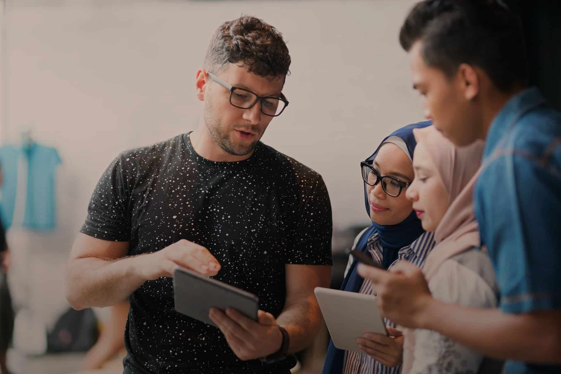 Global business training